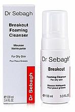 Perfumería y cosmética Espuma de limpieza facial antiacné con ácido oleanólico y glicerina - Dr Sebagh Breakout Foaming Cleanser For Oily & Acne Prone Skin
