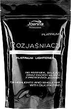 Perfumería y cosmética Tinte aclarador para cabello, no incluye oxidante - Joanna Professional Lightener (bolsita)