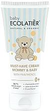 Perfumería y cosmética Crema universal para mamá y bebé con D-pantenol, extracto de caléndula y camomila - Ecolatier Baby