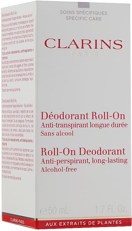 Desodorante roll-on antitranspirante, sin alcohol - Clarins Gentle Care Roll-On Deodorant — imagen N2