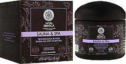 Perfumería y cosmética Manteca anticelulítica de masaje con aceite de rosa, juliana siberiana, árbol de Amur y cera blanca - Natura Siberica Sauna&Spa