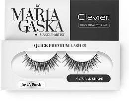 Perfumería y cosmética Pestañas postizas - Clavier Quick Premium Lashes Just A Pinch 811