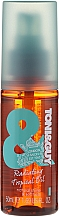 Perfumería y cosmética Elixir para cabello con aceite de almendras dulces y minerales - Toni & Guy Casual Radiating Tropical Elixir
