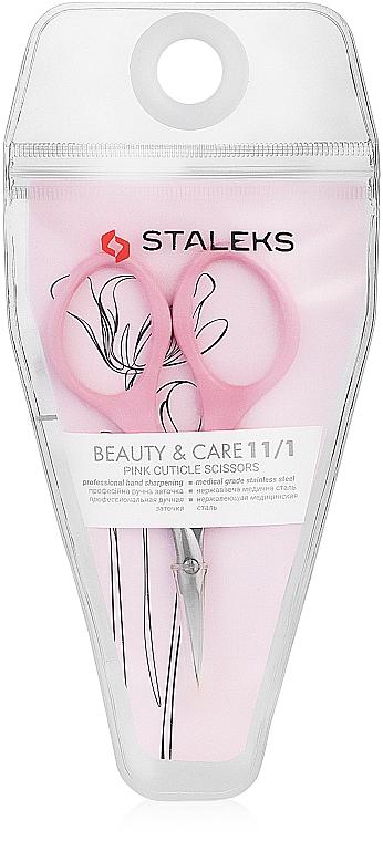Tijeras de cutículas, SBC-11/1 - Staleks Beauty & Care 11 Type 1