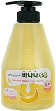 Perfumería y cosmética Loción corporal con extracto de miel y banana - Welcos Banana Milk Skin drinks Body Lotion
