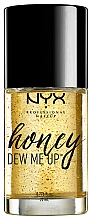 Perfumería y cosmética Prebase de maquillaje en gel con extractos de miel y colágeno, vegana - NYX Professional Makeup Honey Dew Me Up Primer