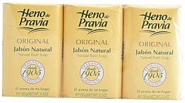 Perfumería y cosmética Heno de Pravia Original - Set jabón natural (3uds.x150g)