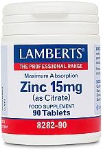 Perfumería y cosmética Complemento alimenticio en cápsulas Zinc , 15mg - Lamberts Zinc 15mg