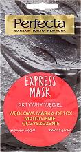 Perfumería y cosmética Mascarilla facial con carbón activo y arcilla verde - Perfecta Express Mask