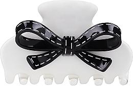 Perfumería y cosmética Pinza para cabello, blanco-negro 219 - Moliabal Milano Hair Clip