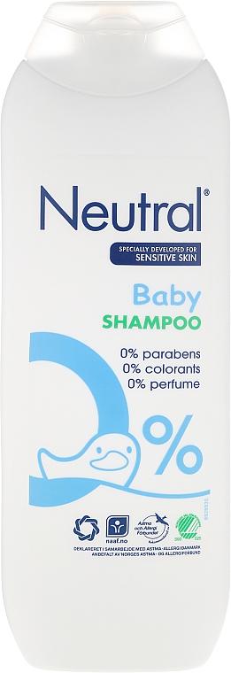 Champú infantil para cabello y cuerpo - Neutral Baby Shampoo