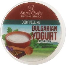 Perfumería y cosmética Peeling corporal natural con extracto de yogurt de Bulgaria - Stani Chef's Bulgarian Yogurt Body Peeling