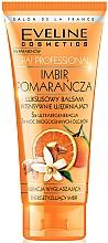 Perfumería y cosmética Bálsamo corporal de fortalecimiento con extracto de jengibre y naranja - Eveline Cosmetics Spa Prof