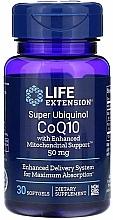 Perfumería y cosmética Complemento alimenticio en cápsulas super ubiquinol CoQ10, 50 mg - Life Extension Super Ubiquinol CoQ10 with Enhanced Mitochondrial Support