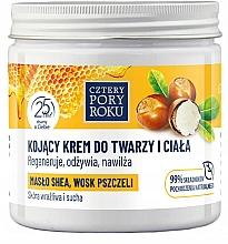 Perfumería y cosmética Crema para rostro y cuerpo con manteca de karité y cera de abeja - Cztery Pory Roku
