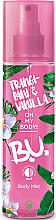 Perfumería y cosmética Bruma corporal con aroma a plumeria y vainilla - B.U. Frangipani & Vanilla Body Mist