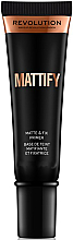 Perfumería y cosmética Prebase de maquillaje matificante con vitamina E - Makeup Revolution Mattify Primer