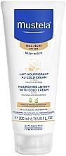 Perfumería y cosmética Loción nutritiva para bebés con aguacate y ceramidas - Mustela Bebe Nourishing Lotion with Cold Cream