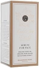 Perfumería y cosmética Sérum facial con aceite orgánico de rosa & extracto de perla negra - Bulgarian Rose Lady's Joy Luxury Serum For Face