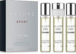 Perfumería y cosmética Chanel Allure Homme Sport Eau Extreme - Eau de parfum (3uds.x20ml) (relleno)