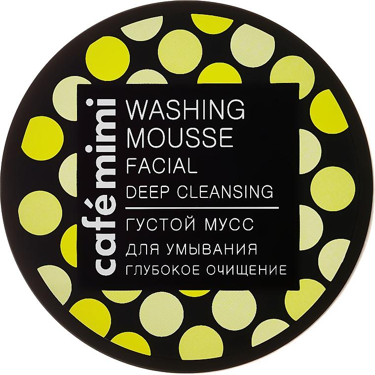 Mousse limpiador facial, Limpieza Profunda, con carbón y aceite de árbol de té - Cafe Mimi Washing Mousse Facial Deep Cleaning