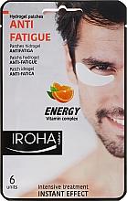 Parches para contorno de ojos antifatiga con complejo vitamínico - Iroha Nature Anti-Fatigue Energy Vitamin Complex — imagen N1