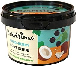 Perfumería y cosmética Exfoliante corporal de sal marina y azúcar con manteca de karité y aceite de coco - Berrisimo Coco-Berry Body Scrub