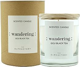 Perfumería y cosmética Vela aromática, goji y té negro - Ambientair The Olphactory Wandering Goji Black Tea