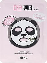 Perfumería y cosmética Mascarilla facial de tejido con niacinamida y extracto de jojoba - Skin79 Animal Mask For Dark Panda
