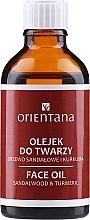 Perfumería y cosmética Aceite facial de sándalo y cúrcuma vegano - Orientana Face Oil Sandalwood & Turmeric