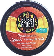 Perfumería y cosmética Exfoliante corporal a base de azúcar, melocotón y mango - Farmona Tutti Frutti Sugar Scrub