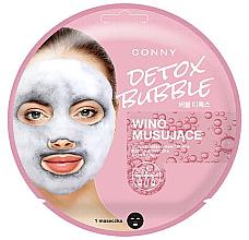 Perfumería y cosmética Mascarilla facial de tejido detoxificante - Conny Bubble Detox Wino Musujace