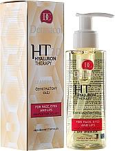 Perfumería y cosmética Desmaquillante facial con aceite de macadamia, extracto de loto y ácido hialurónico - Dermacol Hyaluron Therapy 3D Cleansing Oil