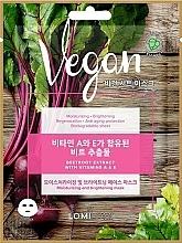Perfumería y cosmética Mascarilla facial de tejido vegana con extracto de remolacha - Lomi Lomi Vegan Mask