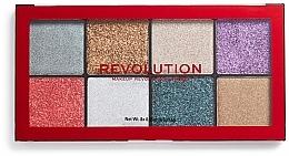 Perfumería y cosmética Paleta de glitter prensado - Makeup Revolution Halloween 2019 Pressed Glitter Palette