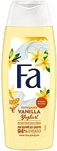 Perfumería y cosmética Crema de ducha con proteínas de yogurt, niacianamidas, aroma a vainilla & miel - Fa