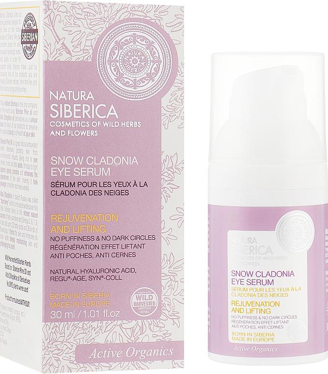 Sérum para contorno de ojos con ácido hialurónico natural y activos orgánicos - Natura Siberica Anti-Age — imagen N1
