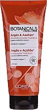 Crema nutritiva para cabello con aceites de argán y azafrán - L'Oreal Paris Botanicals Botanicals Azafran Infusion Nutricion — imagen N1