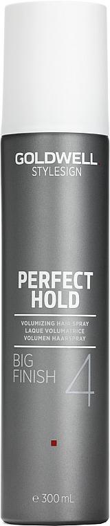 Spray para volumen fijación fuerte con extracto de bambú & pantenol - Goldwell Style Sign Perfect Hold Big Finish Volumizing Hairspray