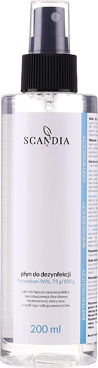 Líquido desinfectante con 96% etanol - Scandia Cosmetics