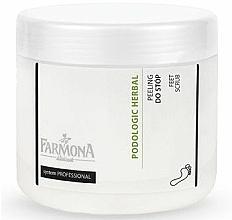 Perfumería y cosmética Exfoliante para pies con extracto de salvia - Farmona Podologic Herbal
