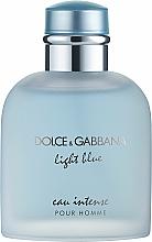 Perfumería y cosmética Dolce & Gabbana Light Blue Eau Intense Pour Homme - Eau de parfum