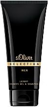 Perfumería y cosmética S.Oliver Selection for Men - Gel de ducha y champú para hombre