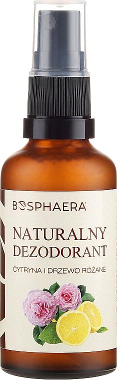 Desodorante natural con limón y rosa - Bosphaera