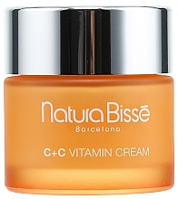 Perfumería y cosmética Crema facial a base de vitamina C & E, manteca de karité y rosa mosqueta - Natura Bisse C+C Vitamin Firming Cream SPF 10