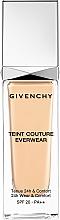 Perfumería y cosmética Base de maquillaje hidratante de alta cobertura y larga duración con glicerina - Givenchy Teint Couture Everwear SPF20/PA++