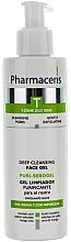 Perfumería y cosmética Gel facial antibacteriano - Pharmaceris T Puri-Sebopeel Gel