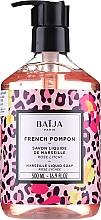 Perfumería y cosmética Jabón líquido para manos y cuerpo con aroma a rosa y litchi - Baija French Pompon Marseille Liquid Soap