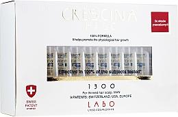 Perfumería y cosmética Tratamiento en ampollas estimulador del crecimiento de cabello para hombres 1300 - Crescina HFSC Re-Growth 1300