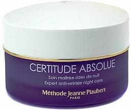 Crema de noche antiarrugas con aceite de almendras dulces - Methode Jeanne Piaubert Certitude Absolue Expert Anti-Wrinkle Night Care — imagen N1